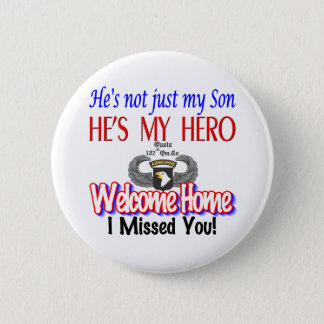 Welcome Home Son Products 2 Inch Round Button