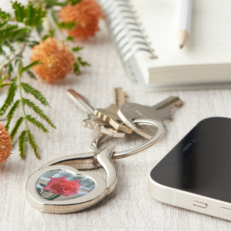 Welcome Home, Twisted Heart Keychain