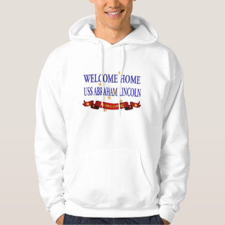 Welcome Home USS Abraham Lincoln Hoodie