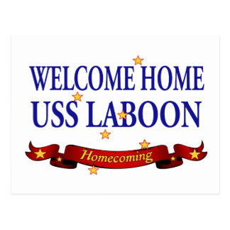 Welcome Home USS Laboon Postcard