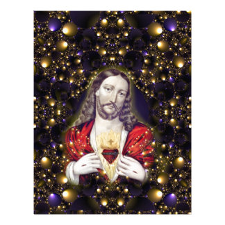 Welcome Jesus into your Home multiple products sel Letterhead Design