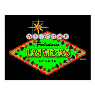 Welcome, Las Vegas, Nevada Postcard