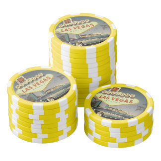 Welcome Las Vegas Poker Chips