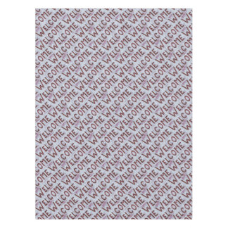 Welcome Letters Pattern Tablecloth