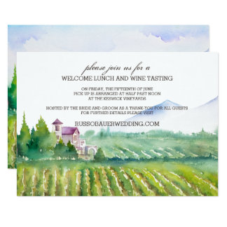 Welcome Lunch & Wine Tasting Invite