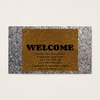 Welcome Mat Business Card
