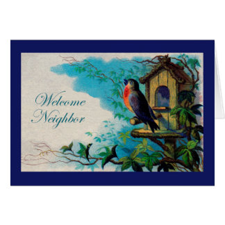 Welcome Neighbor, Welcome to the Neighborhood Greeting Card