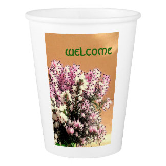 Welcome Paper Cup