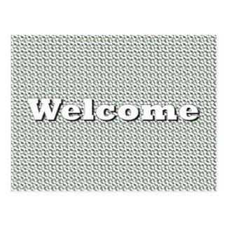 Welcome Postcard