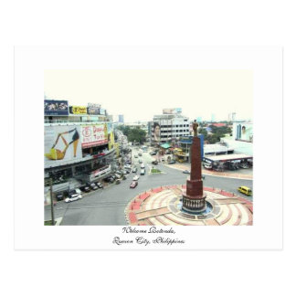 Welcome Rotonda,Quezon City,Philippines - Postcard