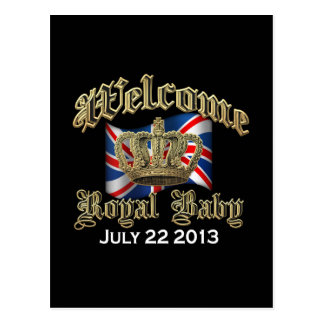 Welcome Royal Baby Keepsake Postcard