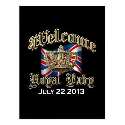 Welcome Royal Baby Keepsake Postcards