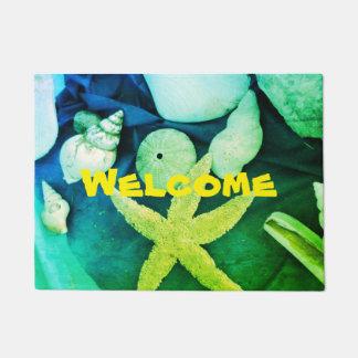 Welcome - Seashells & Urchins - Doormat