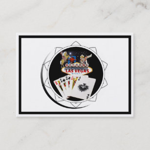 Casino business cards business card printing zazzle ca welcome sign black poker chip business card colourmoves