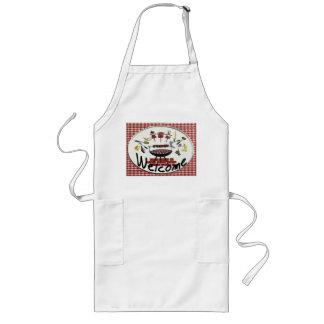 Welcome Sign, Smoke House BBQ Long Apron
