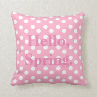 Welcome, Spring Accent Pillow