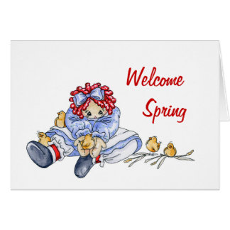 Welcome Spring - Card