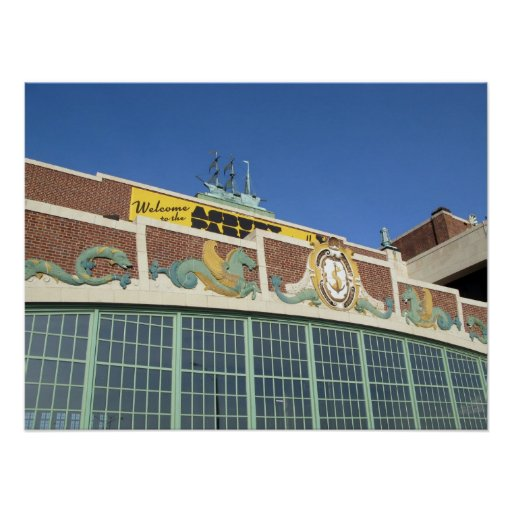 Welcome to Asbury Park NJ - Convention Hall Poster