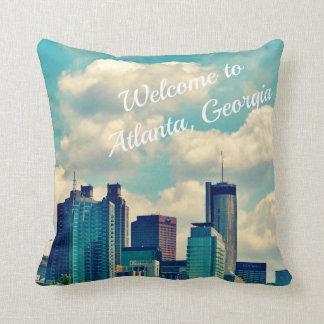 Welcome to Atlanta, Georgia Throw Pillow