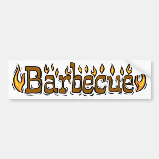Welcome To Barbecue Bumper Sticker