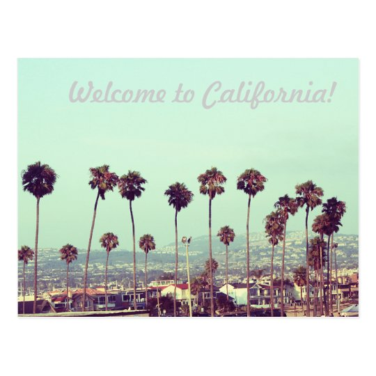 Welcome to California! Postcard