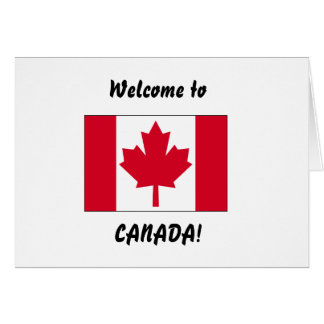 Welcome to Canada Card