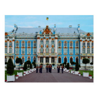 Welcome to Catherine Palace, Russia Postcard