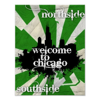 Welcome to Chicago Poster