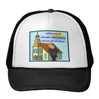 Welcome to Church in Georgia. DUCK!!! Trucker Hat