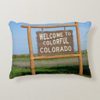 Welcome to Colorful Colorado Pillow!!! Decorative Pillow