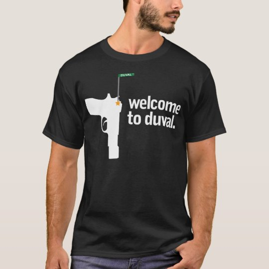 Welcome To Duval Black Tee