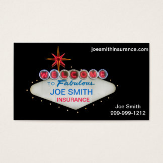 Welcome to Fabulous Las Vegas business cards