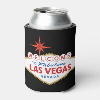 Welcome to Fabulous Las Vegas, Nevada Can Cooler