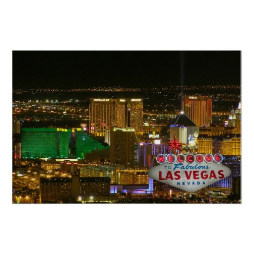 Welcome to Fabulous Las Vegas, Nevada Poster