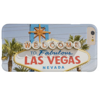 Welcome to fabulous las vegas nevada sign barely there iPhone 6 plus case