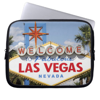 Welcome to Fabulous Las Vegas Nevada Sign Laptop Sleeve