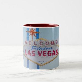 Welcome to Fabulous Las Vegas Two Tone Mug
