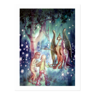 Welcome to Fairyland Postcard