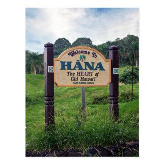 Welcome to Hana Postcard