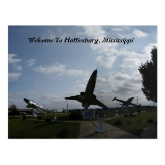 Welcome To Hattiesburg, Mississippi Postcard