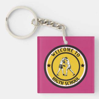 Welcome to High School Keychain
