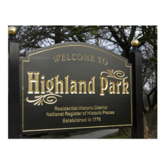 Welcome to Highland Park Post Cards