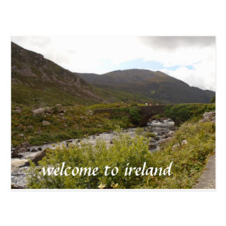 welcome to ireland postcard