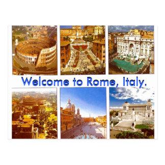 welcome to Italy (Mojisola A Gbadamosi - Okubule Postcard