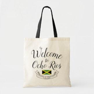 Welcome to Jamaica   Destination Wedding Custom Tote Bag