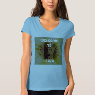 Welcome To Kenya Hakuna Matata v-neck Tshirt