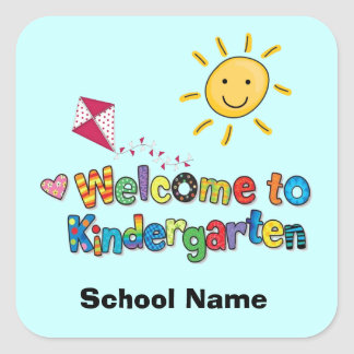 Welcome to Kindergarten Stickers