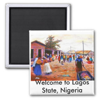 Welcome to Lagos State, Nigeria Magnet