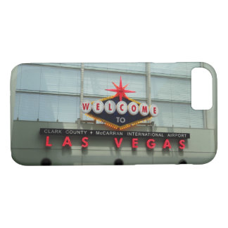 Welcome to Las Vegas Airport Sign iPhone 8/7 Case