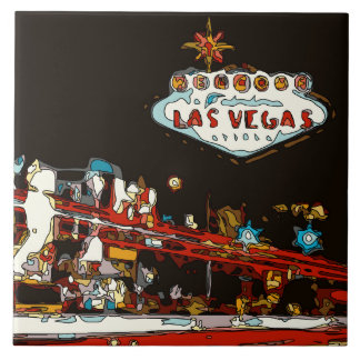 Welcome to Las Vegas Baby Tile